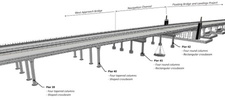 West Approach Bridge. Image: WSDOT