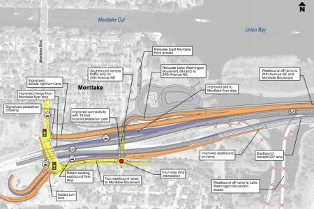 Good and bad in the new west approach bridge north montlaker for 520 plan